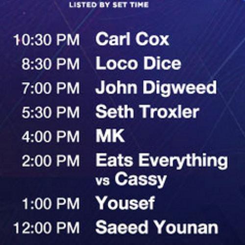 Ultra Miami 2015 - Carl Cox Stage - Saeed Younan Live