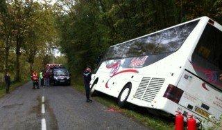 Accident de bus scolaire dans le Gers : plusieurs blessés