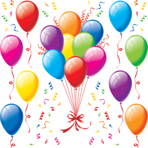 Birthday balloons | Sharon Drew Morgen