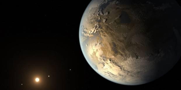 Découverte de la première exoplanète habitable de même taille que la Terre