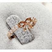 Bague noeud, diamant, argent/or, femme sur PriceMinister