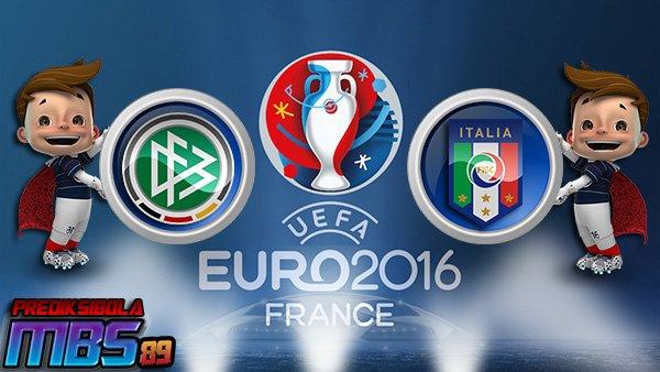 Prediksi Jerman vs Italia 3 Juli 2016