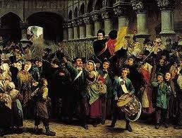 Les costumes: Volontaires de 1830