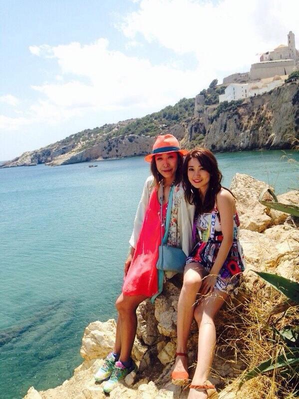 Twitter / Oshima__Yuko : とゆうわけで、Ibizaには写真集を撮りにいってました♥︎ 実 ...