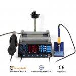 PPD W3120 A8 A9 A10 BGA Reballing Intelligent Cooling platform BGA Reballing Machine