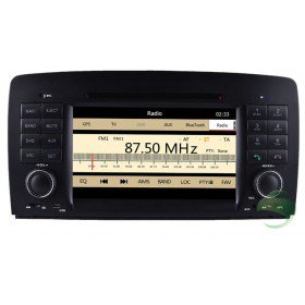 Auto DVD Player GPS Navigationssystem für Mercedes-Benz R Klasse W251(2006 2007 2008 2009 2010 2011 2012)(R280 R300 R320 R350 R500)