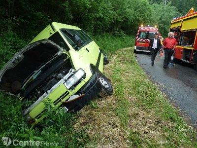 Six enfants blessés dans un accident de minibus