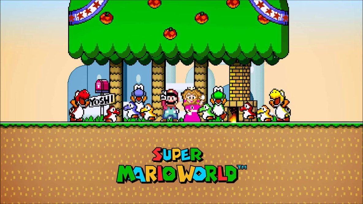 Download the Super Mario World ROM - USA version