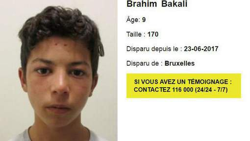 Child Focus recherche un garçon de neuf ans disparu de l'Office des Etrangers