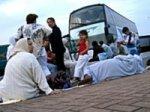 Saisie de trois autocars belges à destination du Maroc