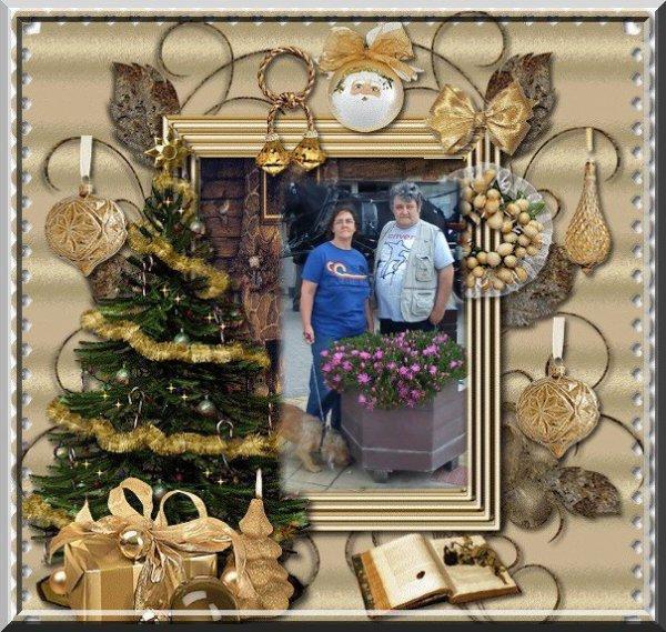 Je vous souhaite une Joyeux Noël et une Bonne et Heureuse Année.......