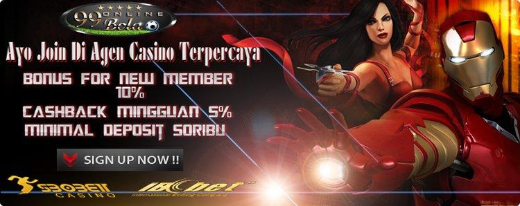 Situs Judi Casino Online Indonesia Terbesar | 99 Bola