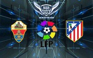 Prediksi Elche vs Atletico Madrid 6 Desember 2014 Primera Division