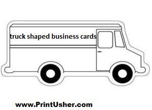 Truck shaped business cards stevejoness blog truck shaped business cards colourmoves