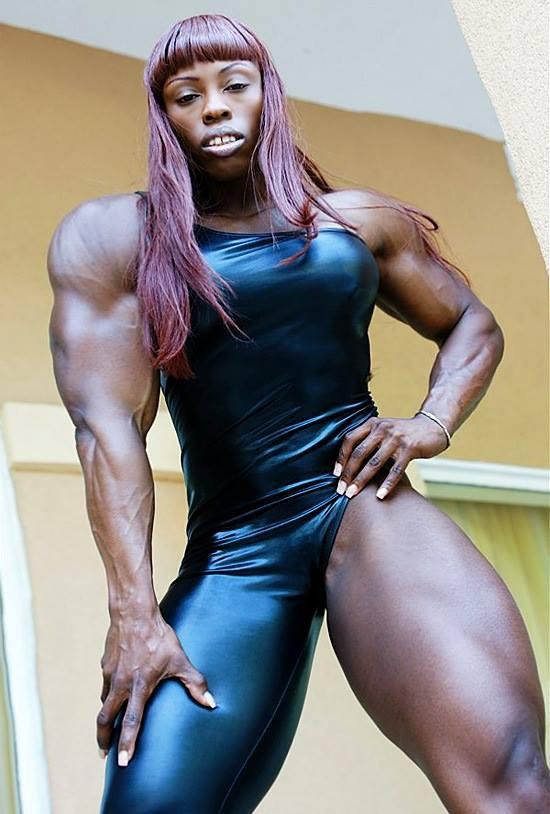 female bodybuilders 24: Victoria Dominguez female bodybuilder :