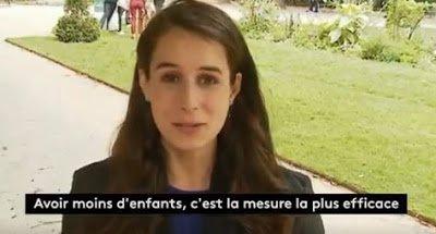 Fawkes News: France 2 a trouvé la réponse au réchauffement climatique: ne faites plus d'enfants