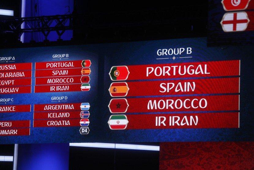 Grup B Piala Dunia Akan Begitu Sengit Dan Juga Ketat