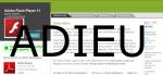 FrAndroid - Actualités Générales : Adobe : Flash Player ne sera plus supporté avec Android 4.1