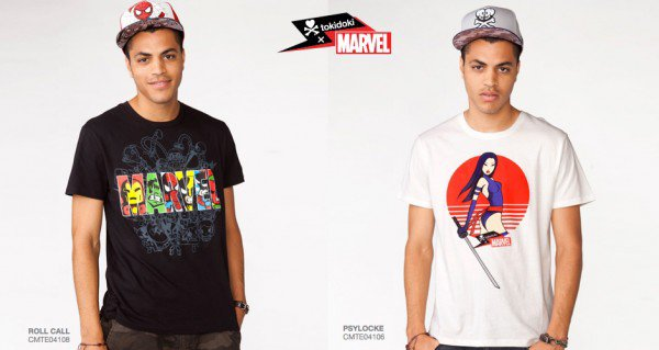 I Adore These New Marvel T-Shirt Designs From Tokidoki