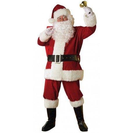 Déguisement Père Noël Luxe adulte Santa Claus Costume Père Noël Santa