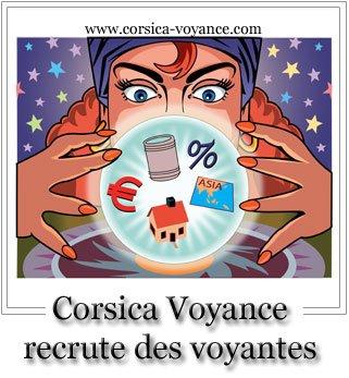 Cabinet qui recrute voyante - Corsica Voyance New