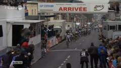 GP Pino Cerami 2013, victoire de Jonas Vangenechten (L. Bruwier) du 4 avril 2013, Cyclisme : RTBF Vidéo