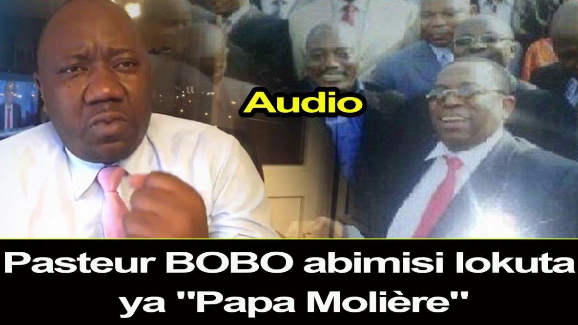 """Regardez """"Pasteur BOBO Abimisi Lokuta ya  Léon Nembalemba alias """"Papa Molière"""""""" sur YouTube"""