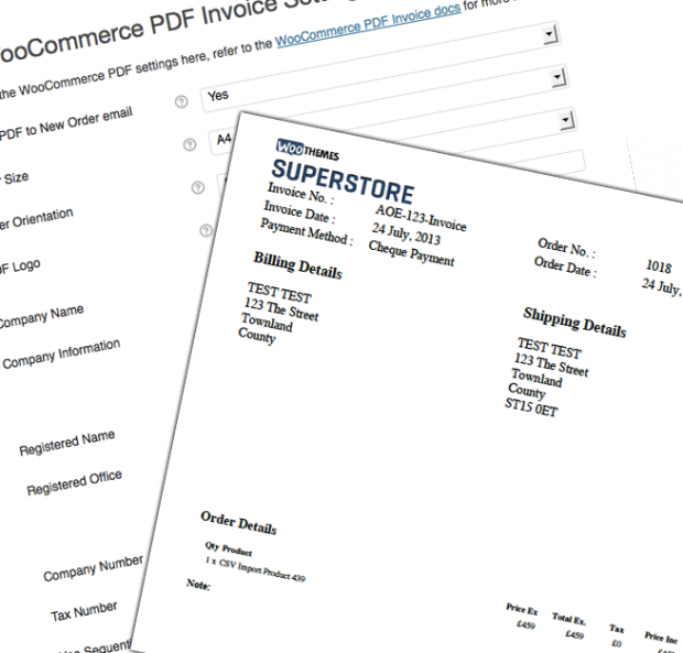 WooCommerce PDF Invoices 3.5.0 Extension - Get Lot