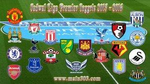 Bursa Taruhan Asianbookie Terlengkap Liga Premier Inggris 2015 - 2016