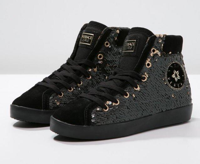 0c9c2f17d82f5 Versace Jeans Baskets montantes nero, Baskets Femme Zalando ...