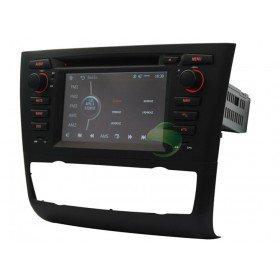 Auto DVD Player GPS Navigationssystem für BMW E88 1 Series(2004 2005 2006 2007 2008 2009 2010 2011 2012) Convertibl (automatische Klimaanlage + beiheizbarer Sitz)