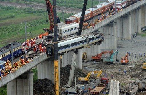 Chine - Un accident évacué à grande vitesse - La presse et les internautes tentent de contourner la censure chinoise