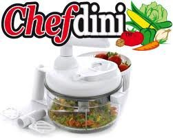 Chef Dini Deluxe Edition Chop, Blend, Whip, and Mix |