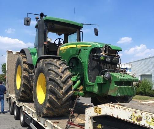 Il se fait voler son tracteur et son pick-up pour un casse
