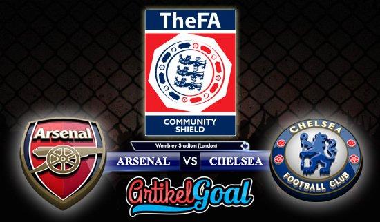 Prediksi Bola Arsenal Vs Chelsea 6 Agustus 2017