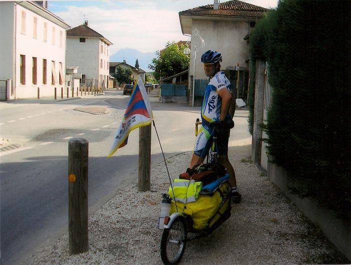 Chambery-Paris cet été en vélo...