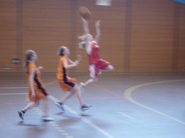 Maïté au Basket !! tmtc jt'aime for !