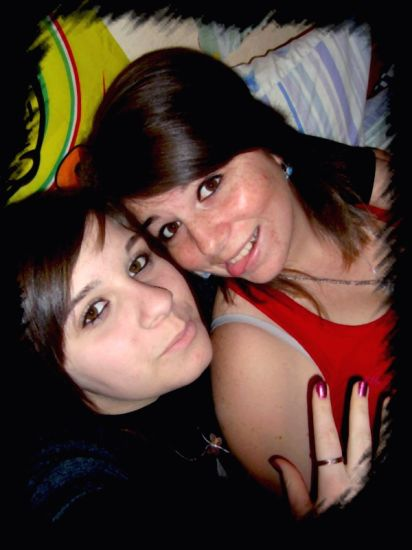 La p'tite soeur et moi !!