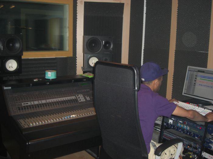 Diego au mix chez Street Skillz