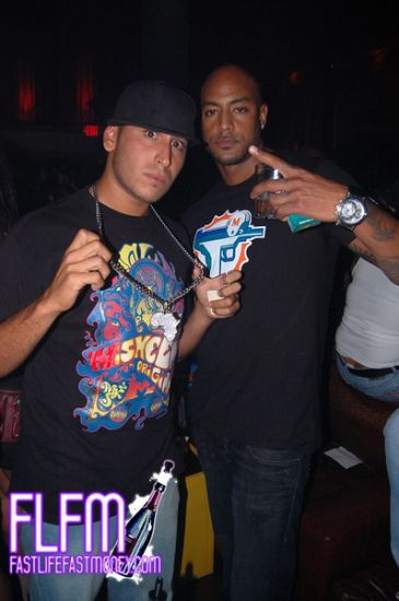 DJ King SamS and Booba chillin' in Miami boy !!