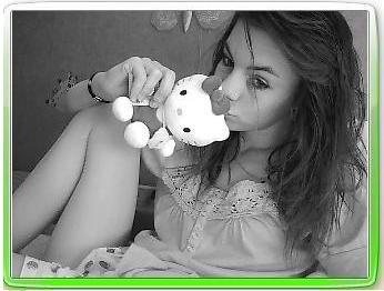 moi et kitty :p 2008