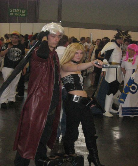 Trish et Dante