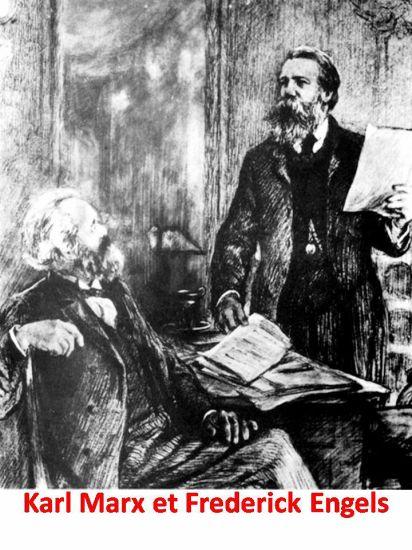 Karl Marx & Frederik Engels
