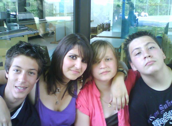 Flo , Moi , Ma gwen , Quentin ...