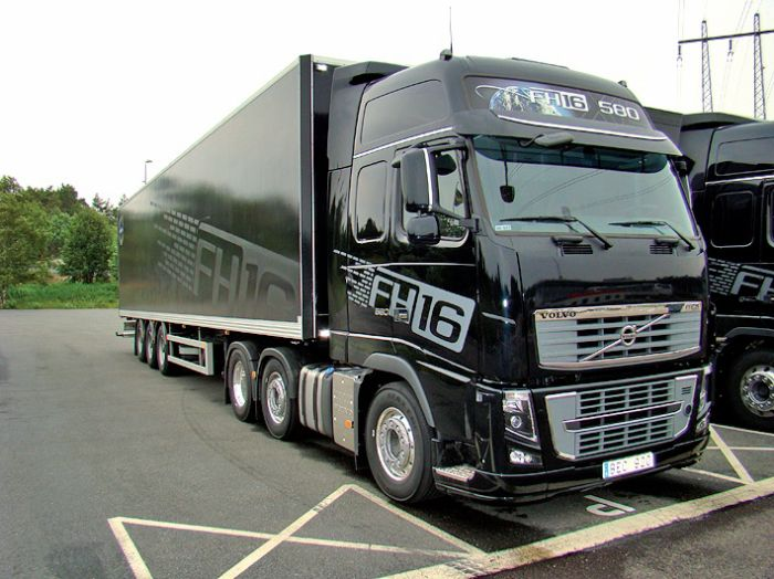 NEW VOLVO FH 16 580