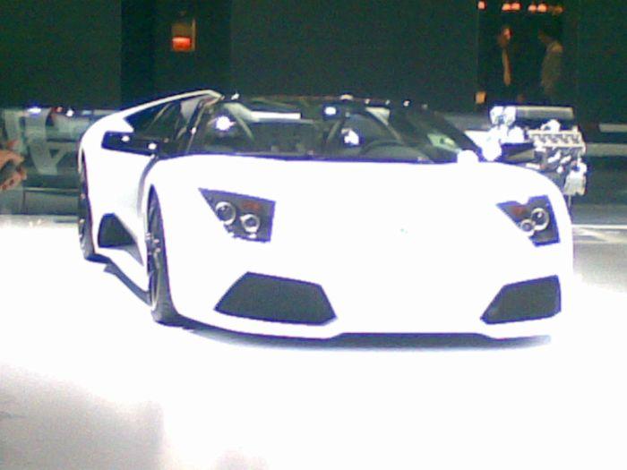 Lamborghini o salon de l'oto