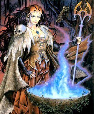 Elle est trop belle cette sorcière!