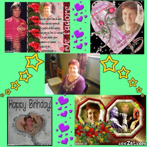 ma grand-mère que j'aime