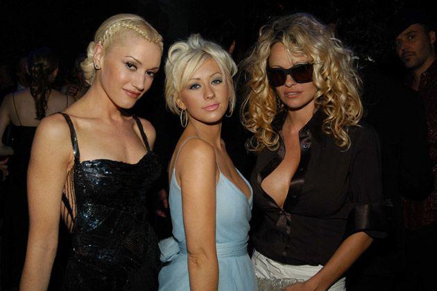 Gwen Stefani & Pamela Anderson