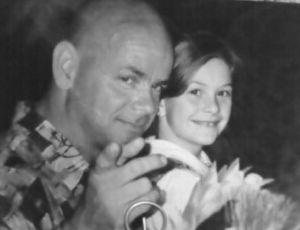 Papa && Moi . L'époque .. Je t'aime *